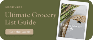 Grocery List Guide