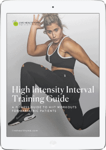HIIT workout Guide for Bariatric Patients